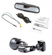 Штатное зеркало заднего вида с монитором и видеорегистратором Phantom RMS-431 DVR Full HD-63 для Mercedes-Benz