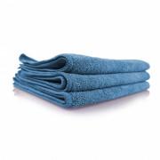 Голубое микрофибровое полотенце для стекол `Рабочая лошадка` Chemical Guys Blue Workhorse Microfiber Towel