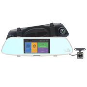 Зеркало заднего вида с монитором, видеорегистратором и камерой заднего вида Aspiring Reflex 2 (RF39678)