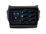 Штатная магнитола Incar XTA-2409 для Hyundai Santa Fe 2013-2018 (Android 10)