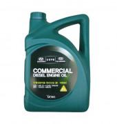 Оригинальное моторное масло Hyundai / KIA (Mobis) Commercial Diesel 10w-40 CI-4 (05200-484A0, 05200-486A0)