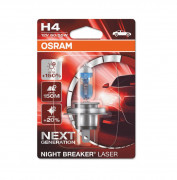 Лампа галогенная Osram Night Breaker Laser Next Generation 64193 NL-01B +150% (H4)
