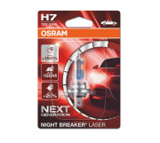 Osram Лампа галогенная Osram Night Breaker Laser Next Generation 64210 NL-01B +150% (H7)