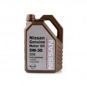 Оригинальное моторное масло Nissan Genuine Motor Oil SM 5w-30 (KLAL6-05301 / KLAL6-05304)