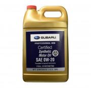 Оригинальное моторное масло Subaru Synthetic Motor Oil 0w-20 SOA427V1315 (USA)
