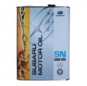 Оригинальное моторное масло Subaru Motor Oil 0w-20 SN (FIG619920T1, K0215Y0274)