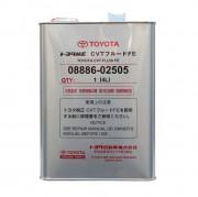 Оригинальное масло для вариаторов Toyota CVT Fluid FE 08886-02505