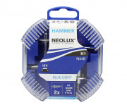 Neolux Комплект галогенных ламп Neolux Blue Light N448B-DUO (H1)