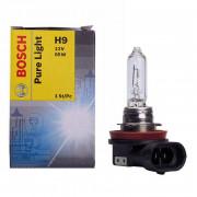 Лампа галогенная Bosch Pure Light 1987302082 (H9)