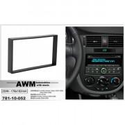 Переходная рамка AWM 781-10-052 для Chevrolet, Ravon, Suzuki, Buick, Holden, 2 DIN