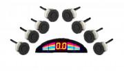 Парктроник GT P Rainbow для заднего / переднего бампера с LED-дисплеем