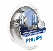 Комплект галогенных ламп Philips CrystalVision 12342CVSM (H4)