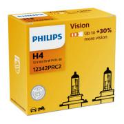 Комплект галогенных ламп Philips Vision 12342PRC2 (H4)