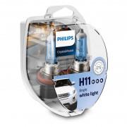 Комплект галогенных ламп Philips CrystalVision 12362CVS2 / 12362CVSM (H11)