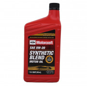 Оригинальное моторное масло Ford Motorcraft Synthetic Blend Motor Oil 5w-20 (XO-5W20-QSP)