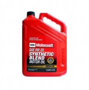 Оригинальное моторное масло Ford Motorcraft Synthetic Blend Motor Oil 5w-20