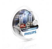 Комплект галогенных ламп Philips MasterDuty BlueVision 13342MDBVS2 24V (H4)