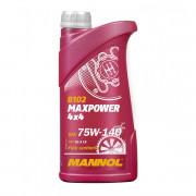 Трансмиссионное масло Mannol 8102 Maxpower 4х4 75w-140 GL-5 LS
