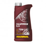 Трансмиссионное масло Mannol Maxpower 4х4 75w-140 GL-5 LS