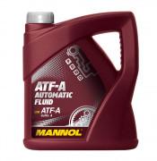 Жидкость для АКПП и ГУР Mannol ATF-A Automatic Fluid