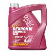 Жидкость для АКПП и ГУР Mannol 8206 Dexron III Automatic Plus