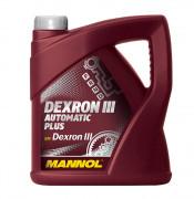Жидкость для АКПП и ГУР Mannol Dexron III Automatic Plus