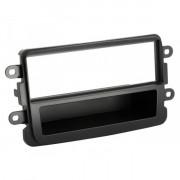 Переходная рамка ACV 281250-13-2 для Dacia / Renault Duster, Sandero, Logan, Dokker, Lodgy, Symbol, Captur, Trafic, 1DIN