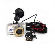 Автомобильный видеорегистратор Celsior DVR CS-219D HD с Wi-Fi (White)