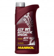 Жидкость для АКПП Mannol ATF WS Automatic Special