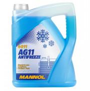 Антифриз Mannol 4011 Antifreeze AG11 -40 (синего цвета)