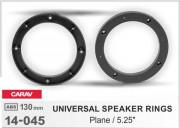 Комплект универсальных подиумов / проставок для динамиков Carav 14-045 в передние / задние двери