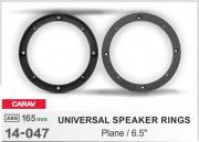 Комплект универсальных подиумов / проставок для динамиков Carav 14-047 в передние / задние двери