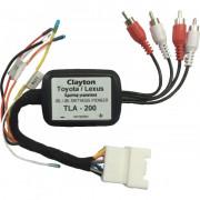 Адаптер для подключения штатного усилителя Clayton TLA-200 (Toyota / Lexus)
