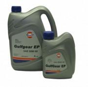Минеральное трансмиссионное масло Gulf Gear EP 80w-90 GL 4