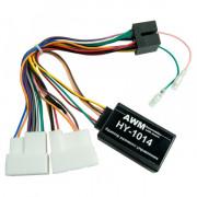 Адаптер для подключения кнопок на руле AWM HY-1014 (Hyundai ix35, Santa Fe, i10, i40, Sonata, Azera, Elantra, Tucson, H1)