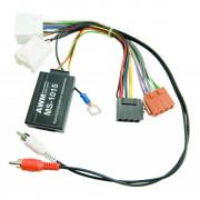 Адаптер для подключения кнопок на руле AWM MS-1015 (Mitsubishi / Peugeot / Citroen)