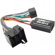 Адаптер для подключения кнопок на руле AWM RN-0012 (Renault Clio, Kangoo, Megane, Scenic, Trafic, Laguna 2000-2005, Modus 2004-2