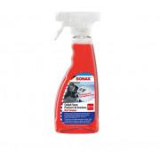 Матовый очиститель-освежитель для пластика Sonax Cockpit Spray Red Summer 366241 (500мл)
