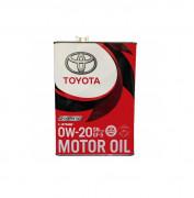 Оригинальное моторное масло Toyota Motor Oil 0w-20 SN Plus / GF-5 08880-12605 (08880-12606)