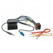 Переходник ISO с антенным адаптером ACV 1324-46 для Audi, Seat, Skoda, Volkswagen