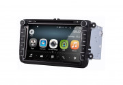 Штатная магнитола AudioSources T100-810A для Volkswagen Universal (Android 8)