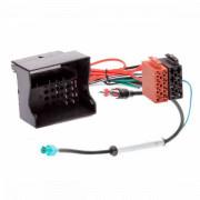 Переходник ISO с антенным адаптером AWM 125-105 для Audi, Seat, Skoda, Volkswagen