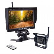 Монитор RS LM-700W + беспроводная камера заднего вида (с защитной шторкой)
