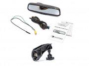 Штатное зеркало заднего вида с монитором и видеорегистратором Phantom RMS-431 DVR Full HD-32 для Mini Cooper, Cooper S, Countrym