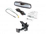 Штатное зеркало заднего вида с монитором и видеорегистратором Phantom RMS-431 DVR Full HD-67 для Seat, Skoda, Volkswagen