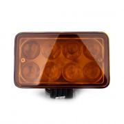 Светодиодная фара (LED BAR) Белавто BOL0803LA Combo (Amber)