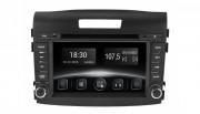 Штатная магнитола Gazer CM6007-RM4 для Honda CR-V (RM4) 2012-2016 (Android 8.0)