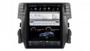 Штатная магнитола Gazer CM7010-FB4 Tesla Style для Honda Civic (FB4) 2016-2017 (Android 7.1)