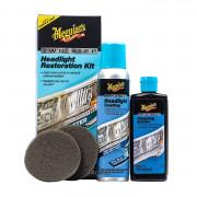 Двухшаговый набор для восстановления и защиты пластиковых фар Meguiar's G2970 Two Step Headlight Restoration Kit