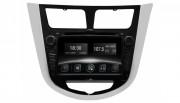 Штатна магнітола Gazer CM6007-RB для Hyundai Accent (RB) 2010-2015 (Android 8.0)
